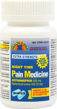 Pharmacy Items Extra Strength Pain Relief & Sleep Aid - 100 Caplets