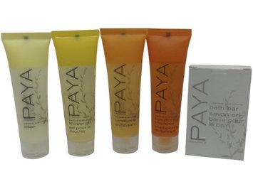 PAYA Organics Travel Set Shampoo Conditioner Lotion Shower Gel & Soap