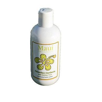 Maui Organics Tropical Lotion, Hawaiian Gardenia Fragrance, 8.5 Ounce