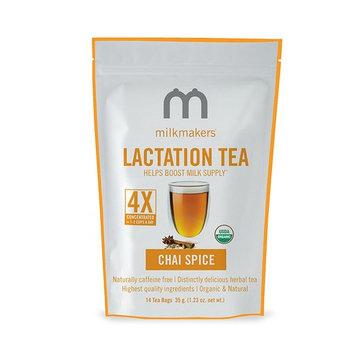 Milkmakers Lactation Tea, 1.23 Ounce, Chai, 14 Tea Bags [Chai]