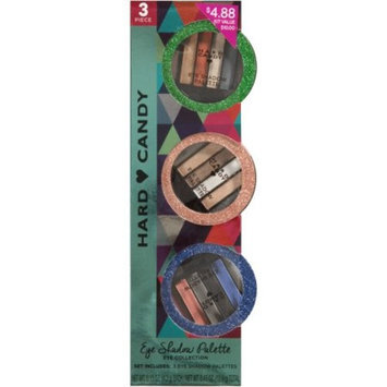 Hard Candy Eye Shadow Palette Eye Collection Gift Set, 3 count