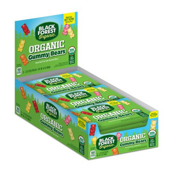 Black Forest Organic Organic Gummy Bears, Assorted Flavors, 2 Oz