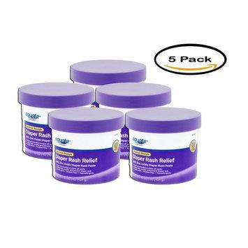 Equate Maximum Strength Diaper Rash Relief, 16 oz, 5pk