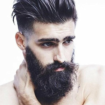 Thicker Beard Growth for Men - Fast Beard Growth with the Most Powerful Natural Facial Hair Growth Formulation | Fragrance and Oil Free