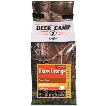 Buck Baits, Llc Deer Camp Coffee Blazed Orange Pumkin Spice Flavored 12 Oz Ground