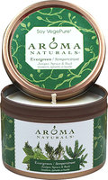 Aroma Naturals Evergreen Juniper, Spruce & Basil Soy Candle-1 Each