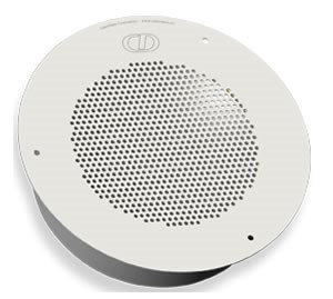 Cyberdata 011120 Auxiliary Speaker Analog Cpnt Gray White (ral 9002)