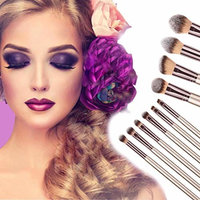 DEESEE(TM)🌸🌸New 10PCS Cosmetic Makeup Brush Brushes Foundation Powder Eyeshadow Brush Set