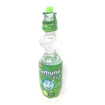 Ramune Japanese Style Marble Soda (Lime, 6 Bottles)