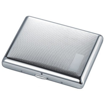 Visol Products Venice Stainless Steel Double Sided Cigarette Case