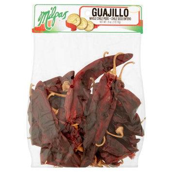 Milpas Foods Milpas Whole Chili Pods Guajillo, 6 oz