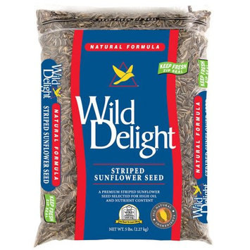 Wild Delight Striped Sunflower Seeds - 5 lb.