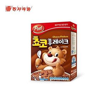 Dongsuh Post Cereal Choco Flake 300G X 3