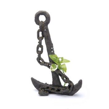 Penn Plax RR803 Sunken Gardens Anchor with Plant Extra Large