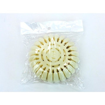 Beauticom Round Nail Tip Display Wheel - 20pcs - Natural