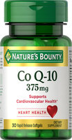 Nature's Bounty Nature's Bounty Co Q-10 375mg -30 Rapid Release Softgels