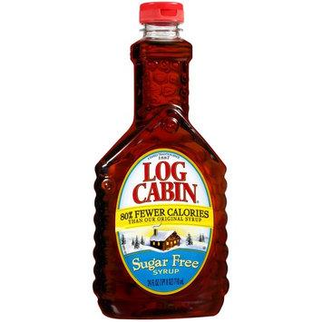 Log Cabin Sugar-Free Syrup, 24 Oz Bottle (3 Pack)
