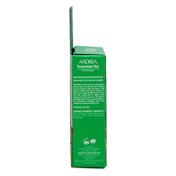 Andrea Tweezeless Wax Facial Hair Remover