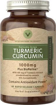 Vitamin World Turmeric Curcumin 1000 mg