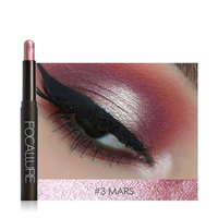 Beauty Eyeshadow Pencil Hosamtel Glitter Neutral Makeup Highlighter Eye Shadow Cosmetic Eyeliner Pen Make Up Tool (12 Colors for Choice)