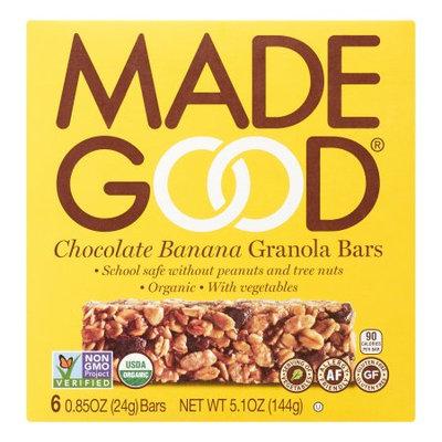 Nassau Candy 966601 5.1 oz Made Good Granola Choc Banana Bar - Pack of 6