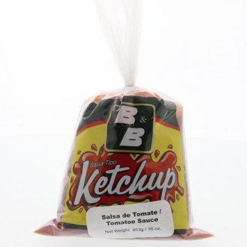 B & B B Ketchup Tomato Sauce 16 Oz - B Ketchup Salsa De Tomate (Pack of 6)