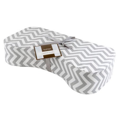 Kushies Nursing Pillow Chevron Grey