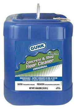 GUNK GB13-5G Floor Cleaner, Biodegradable, 5 gal.