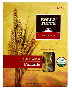 Bella Terra Organic Durum Wheat Farfalle 12 oz