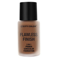 City Color B-0040 F-0017-2 T-0003 Flawless Foundation in Natural with Sponge