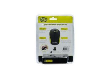 Gear Head MP1975BLK Optical Wireless Travel Mouse - Black