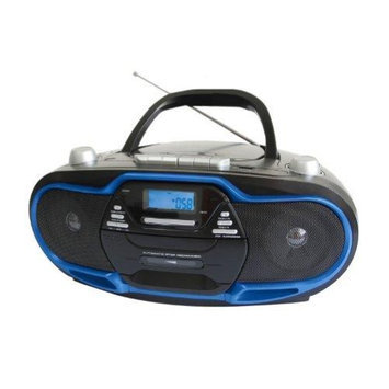 Supersonic Portable MP3/CD Player With USB/AUX Inp