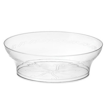 Embellish Hard Plastic 10 Ounce Clear Bowls 20 Count Pack Of 4 [4]