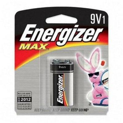 1 Pk, 9V, Energizer Max Battery