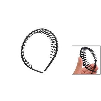 TOOGOO(R) Plastic Teeth Comb Hairband Hair Hoop Headband Black For Woman