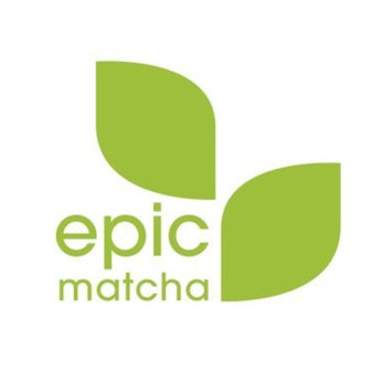 Epic Matcha Organic Green Tea Powder - 4oz/113g (48 servings) - Culinary Grade, Non-GMO, Vegan, Unsweetened - Best for Smoothies, Lattes, Drinks, Baking, Cooking, and Desserts