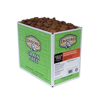 Darford Holding Company Inc Darford Grain-Free Salmon and Mixed Vegetables Dog Treat, 15 Lb