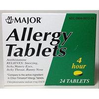 Harvard Drug Group Llc Allergy Tablets Lasts 4 Hours 24 Tablets