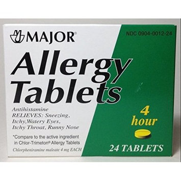 Harvard Drug Group Llc Allergy Tablets Lasts 4 Hours 24 Tablets