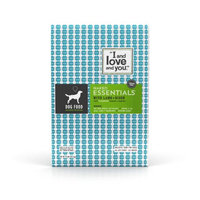 I and Love and You Naked Essentials Grain Free Lamb + Bison Dry Dog Food, 23 lb