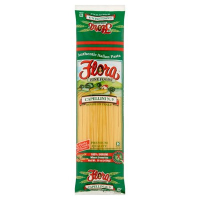 Flora Foods Flora Fine Foods Capellini N.9 Authentic Italian Pasta, 16 oz
