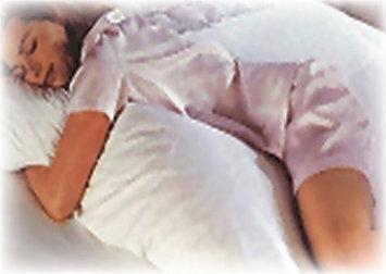 Bilt-Rite Mastex Health 10-47860-2 Body Sleeper Pillow White