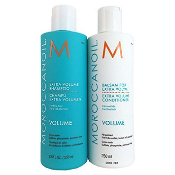 Moroccanoil Extra Volume Shampoo and Conditioner Special Value Set, 2 Count