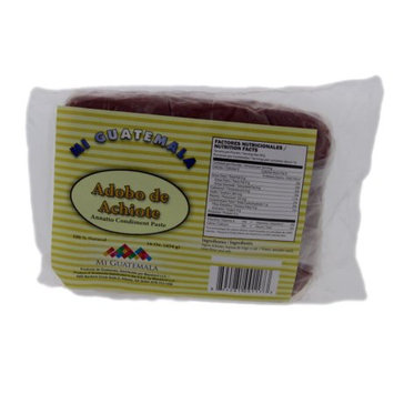 Mi Guatemala Annatto Seasoning Paste 16oz - Adobo de Achiote (Pack of 18)