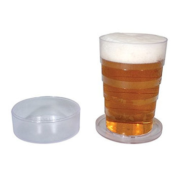 Pop Up Collapsible Pint Beer Glass 2 Pack