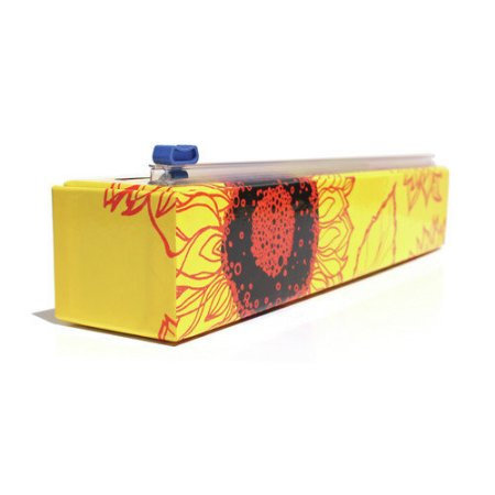 Chefs ChicWrap Plastic Wrap Dispenser - sunflower design