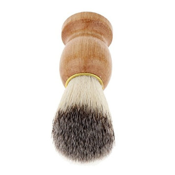 Baoblaze Pro Wood Handle Shaving Brush –Premium Handmade Men's Shave Brush Soft Bristle Hair