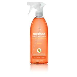 method daily kitchen spray clementine