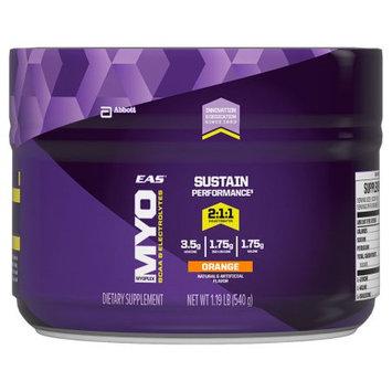 EAS Myoplex BCAA+ Electrolytes Intra Workout Powder, Orange, 1.19 Lb