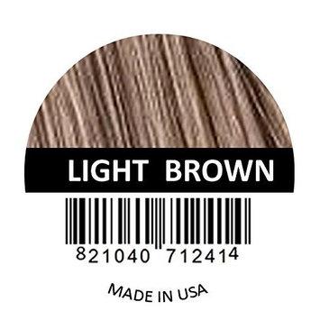 Samson Hair Fiber Refill 25 Grams For Hair Loss Concealing USA Suitable for Toppik Nanogen Xfusion (Light Brown)